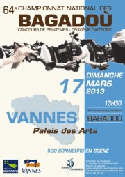 Affiche du concours de Vannes
