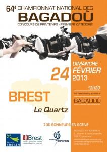 Affiche bagadoù Brest 2013