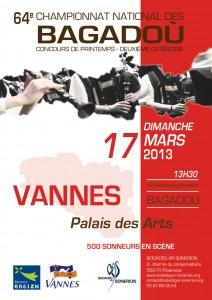Affiche concours Vannes