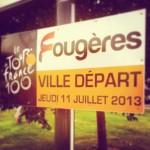 Fougères, ville départ du Tour de France 2013